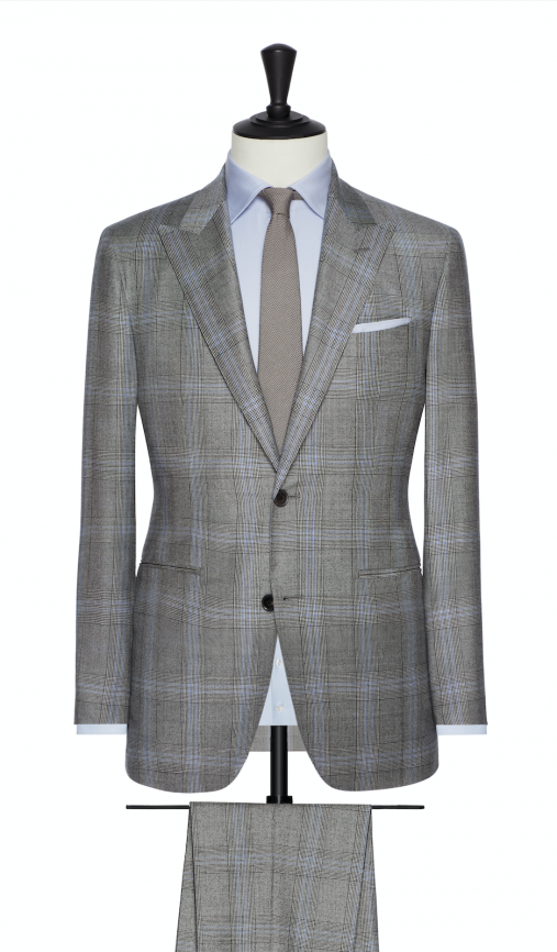 Wool Blends by VBC – Light Saxony Wool Suit-0