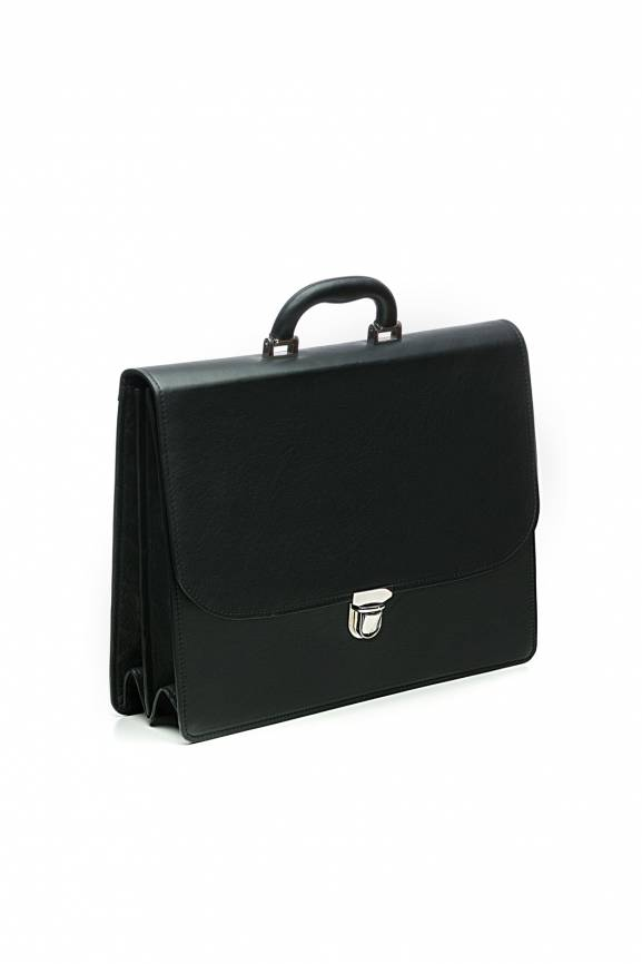 Black Briefcase Leather-0