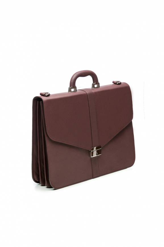Bordo Lawyer Briefcase Leather-0