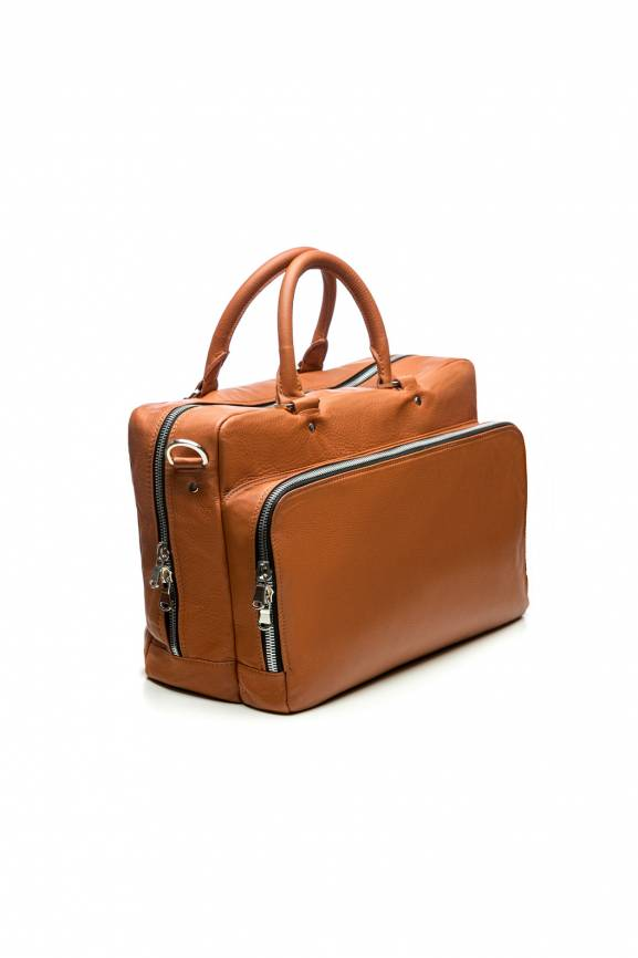 Brown Shoulder Bag Leather-0
