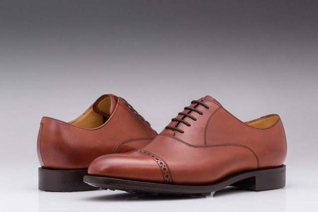 Pantofi Burford Oxford English Leather-0